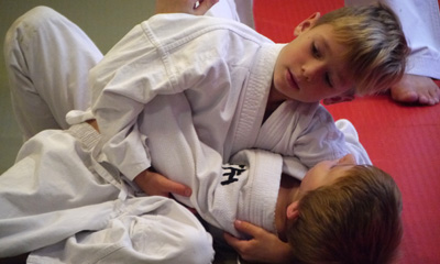 Judo session in Wandsworth