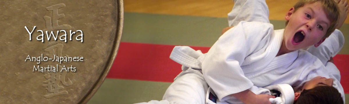 Lots of emotions going into this Judo grip by this child student in Wandsworth!